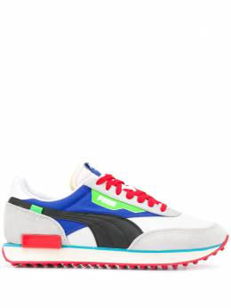 Puma panelled sneakers 372838