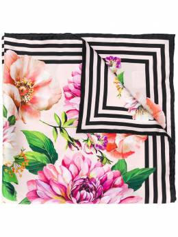 Dolce&Gabbana floral silk scarf FN092RGDS50