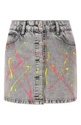 Джинсовая юбка Philipp Plein S20C WDV0095 PDE004N
