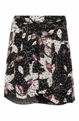 Шелковая юбка Isabel Marant JU1010-19A022I/R0XANA