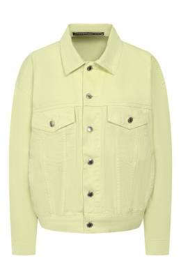 Джинсовая куртка Denim X Alexander Wang 4DC2192530