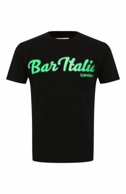 Хлопковая футболка Sacai 19-0006S