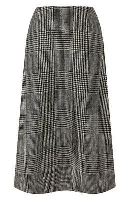 Шерстяная юбка Balenciaga 596427/TGU01