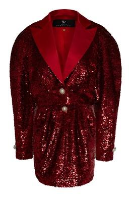 Красный костюм с пайетками Maison Bohemique 1893184247