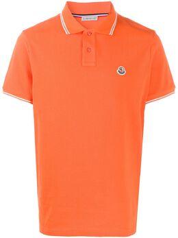 Moncler logo-embroidered polo shirt 8A7060084556