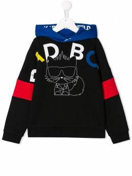 Karl Lagerfeld Kids толстовка Bad Boy с капюшоном Z25232