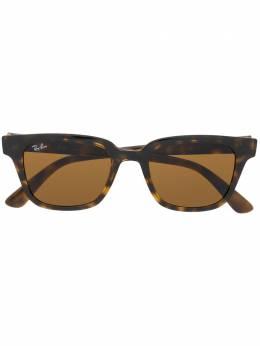 Ray Ban rectangular frame tortoiseshell sunglasses RB4323