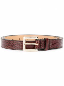 Y / Project croc effect belt BELT13S18