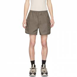 Rick Owens Taupe Dolphin Shorts RU20S7362 TE