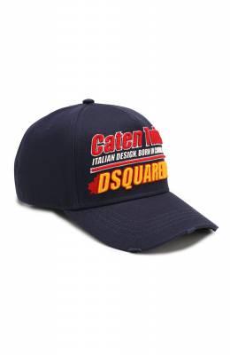 Хлопковая бейсболка Dsquared2 BCM0193 08C00001