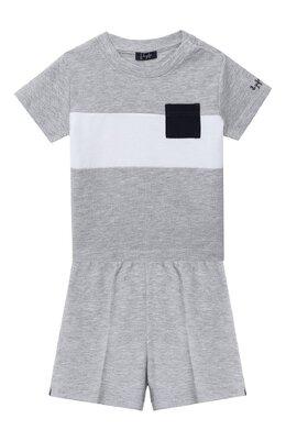 Комплект из футболки и шорт Il Gufo P20DP318M0095/12M-18M