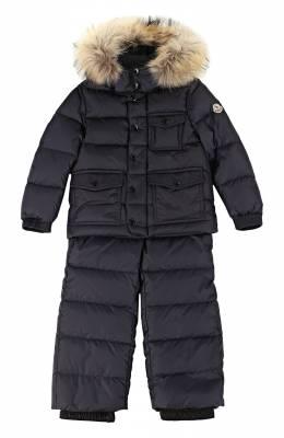 Комплект из куртки и комбинезона Moncler Enfant B2-954-70331-25-68352/4-6