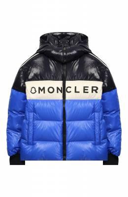 Пуховая куртка с капюшоном Moncler Enfant E2-954-41312-05-68950/8-10A