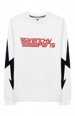 Хлопковый свитшот Givenchy H25111/12+
