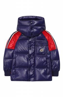 Пуховая куртка с капюшоном Moncler Enfant E2-954-41314-05-68950/12-14A