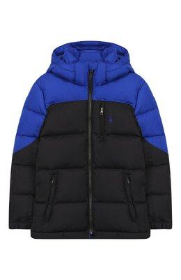 Пуховая куртка с капюшоном Polo Ralph Lauren 322746858