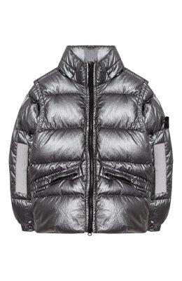Пуховая куртка со съемными рукавами Stone Island 711641036/6-8
