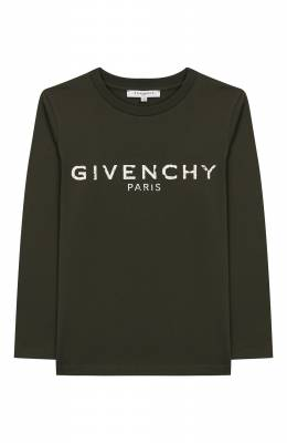 Хлопковый лонгслив Givenchy H25148