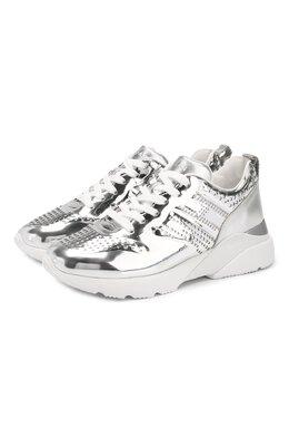 Текстильные кроссовки Hogan HXW3850CE90SV0
