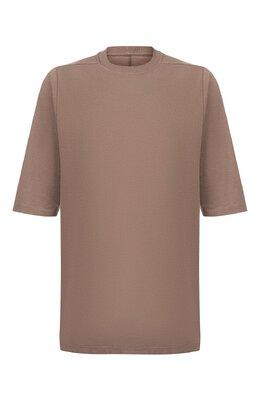 Хлопковая футболка Rick Owens RU19F4269/JA