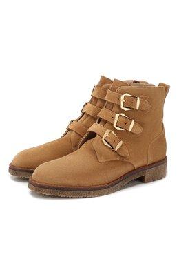 Замшевые ботинки Pertini 201W16595D1