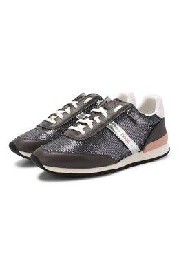 Комбинированные кроссовки Boss by Hugo Boss 50413232