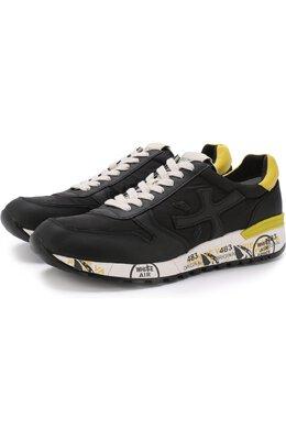 Комбинированные кроссовки Mick на шнуровке Premiata MICK/VAR2825