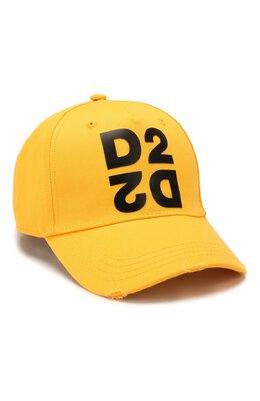 Хлопковая бейсболка Dsquared2 BCM0265 05C00001