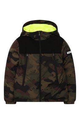 Пуховая куртка с капюшоном Moncler Enfant E2-954-41324-85-C0298/12-14A