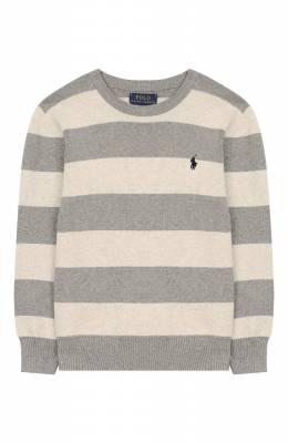 Хлопковый пуловер Polo Ralph Lauren 322711962
