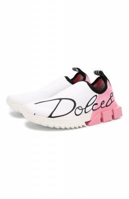 Текстильные кроссовки Sorrento Dolce&Gabbana CK1681/AA101