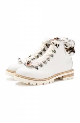 Кожаные ботинки Agl D716548M0KE685C566