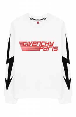 Хлопковый свитшот Givenchy H25111/6A-12A