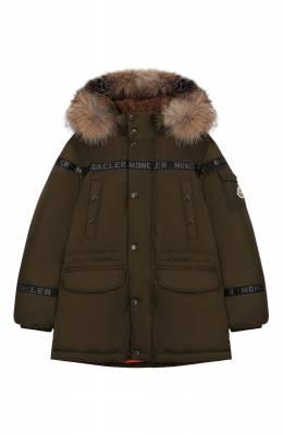 Пуховая куртка Naussac Moncler Enfant E2-954-42367-25-68352/12-14A