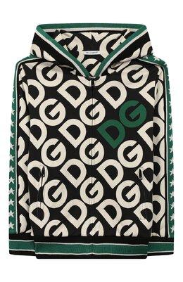 Хлопковая толстовка Dolce&Gabbana L4JW6X/G7TXL/2-6