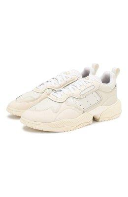 Кожаные кроссовки Supercourt RX Adidas Originals EE6328