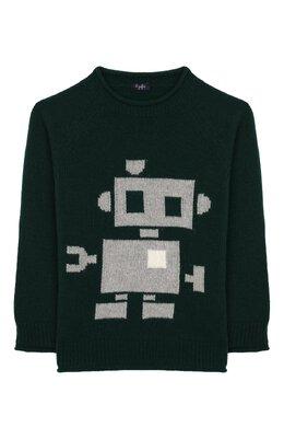 Шерстяной пуловер Il Gufo A19MA304EM620/5А-8А