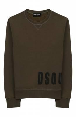 Хлопковый свитшот Dsquared2 DQ03PB-D00W0
