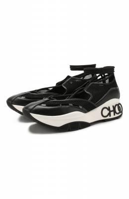 Комбинированные кроссовки Michigan Jimmy Choo MICHIGAN/HNP