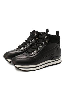 Кожаные ботинки Hogan HXW2220CA20LPY