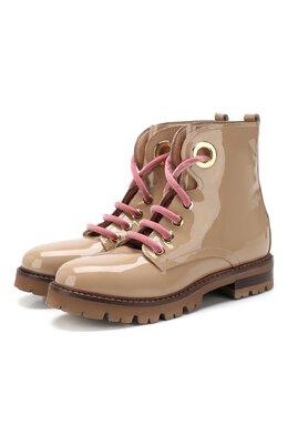 Кожаные ботинки Agl D716564P0M00N.0536