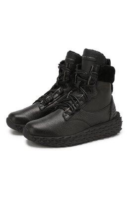 Кожаные кроссовки Urchin Giuseppe Zanotti Design RW90068/002