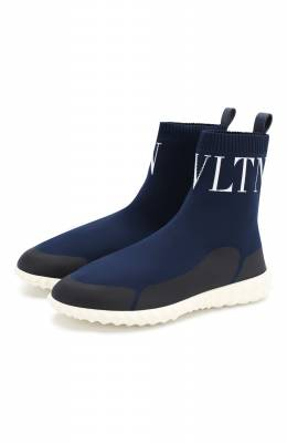 Текстильные кроссовки Valentino Garavani VLTN Valentino RW2S0F72/DFF