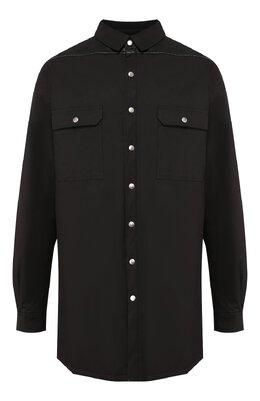 Хлопковая куртка Rick Owens RU19F4739/C0MTL1