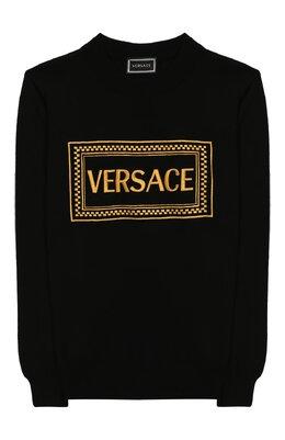 Хлопковый свитшот Versace YD000115/YA00239/8A-14A