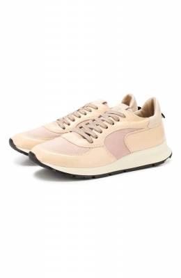 Комбинированные кроссовки Montecarlo Philippe Model NTLD ES01