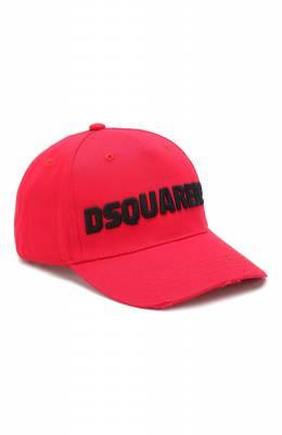 Хлопковая бейсболка Dsquared2 BCM0222 05C00001