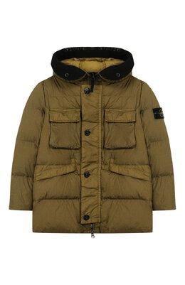 Пуховая куртка с капюшоном Stone Island 711640233/10-12