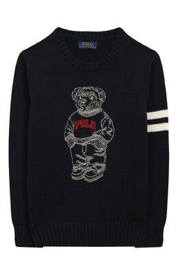 Хлопковый пуловер Polo Ralph Lauren 323738690