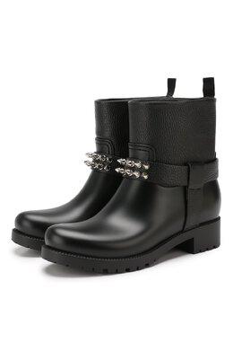 Кожаные ботинки Philipp Plein WSE0310